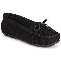 Παπούτσια Γυναίκα Μοκασσίνια Minnetonka KILTY SUEDE MOC Black