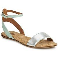 Παπούτσια Γυναίκα Σανδάλια / Πέδιλα Lucky Brand COVELA Mint / Ασημι
