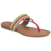 Παπούτσια Γυναίκα Σανδάλια / Πέδιλα Lucky Brand DOLLIS Dark / Camel / Teaberry / Capri / Mπλε