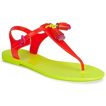 Παπούτσια Γυναίκα Σανδάλια / Πέδιλα Juicy Couture WISP Neon / Orange