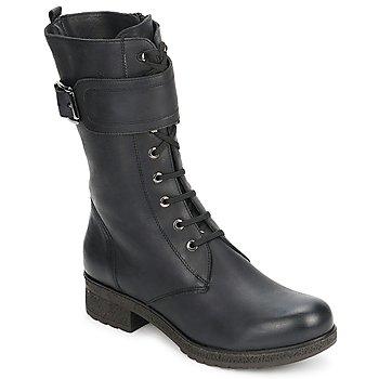 Παπούτσια Γυναίκα Μπότες για την πόλη Unisa BLACK Μαυρο