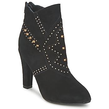 Παπούτσια Γυναίκα Μποτίνια Friis & Company MIXA ERIN Black