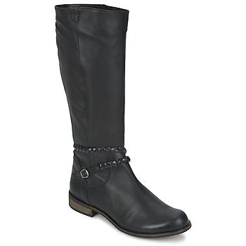 Παπούτσια Γυναίκα Μπότες για την πόλη So Size BERTOU Black
