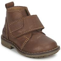 Παπούτσια Αγόρι Μπότες Citrouille et Compagnie MELDUNE Brown