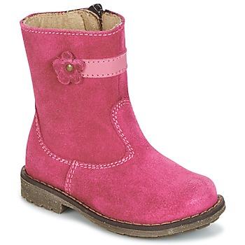 Παπούτσια Κορίτσι Μπότες Citrouille et Compagnie PISTY Fuchsia