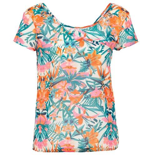 Υφασμάτινα Γυναίκα T-shirt με κοντά μανίκια LTB SEHITABLE Multicolore
