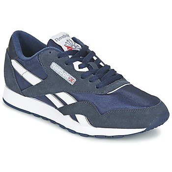 Παπούτσια Άνδρας Χαμηλά Sneakers Reebok Classic CLASSIC NYLON Μπλέ