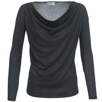 Υφασμάτινα Γυναίκα Μπλουζάκια με μακριά μανίκια Casual Attitude DELINDA Black