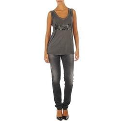 Υφασμάτινα Γυναίκα Skinny Τζιν  Diesel GETLEGG L.32 TROUSERS Grey