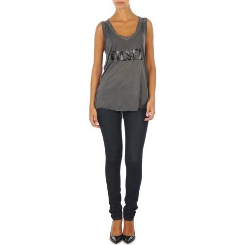 Υφασμάτινα Γυναίκα Skinny Τζιν  Diesel SKINZEE L.32 TROUSERS μπλέ