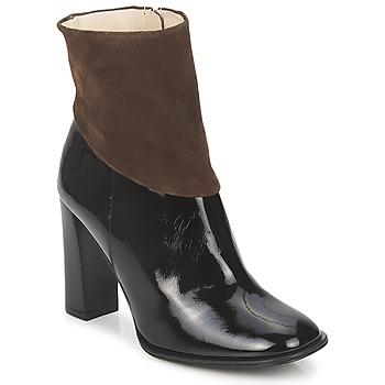 Παπούτσια Γυναίκα Μποτίνια Paco Gil MERLOUNI Black / Brown