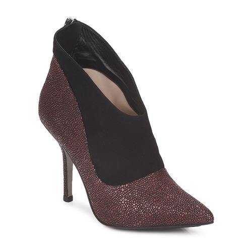 Παπούτσια Γυναίκα Χαμηλές Μπότες Paco Gil BILINE BORDEAUX / Black