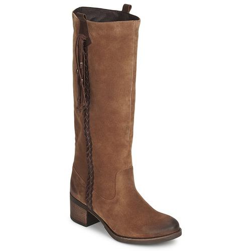 Παπούτσια Γυναίκα Μπότες για την πόλη Betty London ELOANE Brown