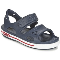 Παπούτσια Αγόρι Σανδάλια / Πέδιλα Crocs CROCBAND II SANDAL PS MARINE / άσπρο