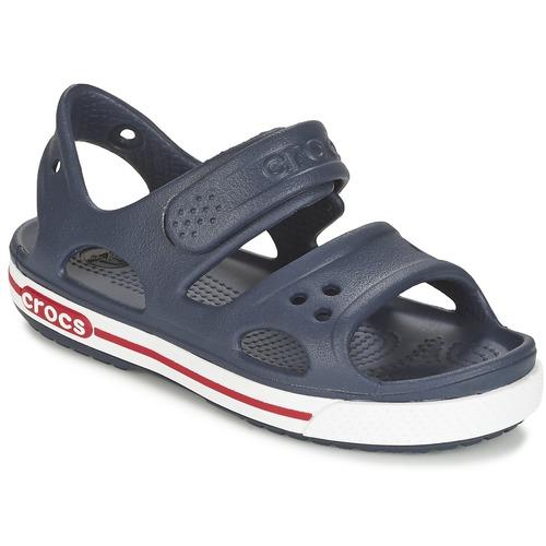 Παπούτσια Παιδί Σανδάλια / Πέδιλα Crocs CROCBAND II SANDAL PS Marine / Άσπρο