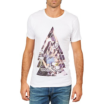 Υφασμάτινα Άνδρας T-shirt με κοντά μανίκια Eleven Paris BERLIN M MEN Άσπρο