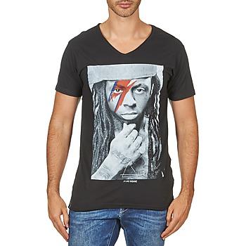 Υφασμάτινα Άνδρας T-shirt με κοντά μανίκια Eleven Paris KAWAY M MEN Black