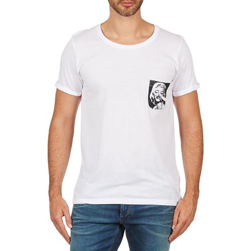 Υφασμάτινα Άνδρας T-shirt με κοντά μανίκια Eleven Paris MARYLINPOCK MEN Άσπρο