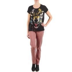 Υφασμάτινα Γυναίκα Παντελόνια Chino/Carrot Eleven Paris PANDORE WOMEN ροζ