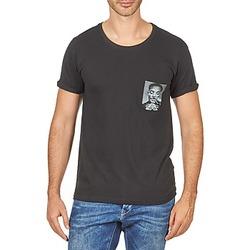Υφασμάτινα Άνδρας T-shirt με κοντά μανίκια Eleven Paris WOLYPOCK MEN Black