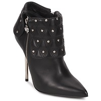 Παπούτσια Γυναίκα Μποτίνια Versace DSL894P Black