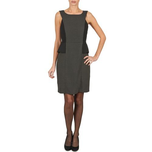 Υφασμάτινα Γυναίκα Κοντά Φορέματα Manoukian PEPLUM Black