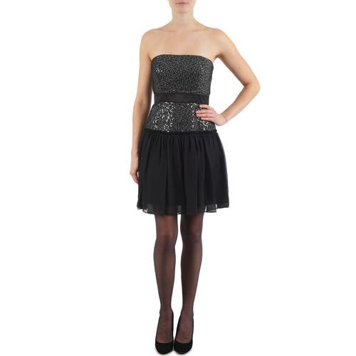 Υφασμάτινα Γυναίκα Κοντά Φορέματα Manoukian JENNI Black