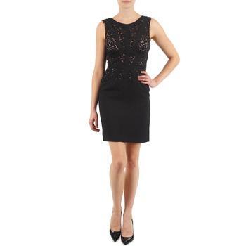 Υφασμάτινα Γυναίκα Κοντά Φορέματα Manoukian EILEEN Black