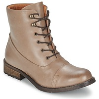 Παπούτσια Γυναίκα Μπότες Pieces SENIDA LEATHER BOOT TAUPE