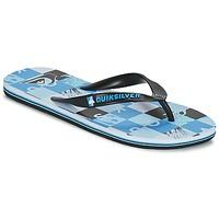 Παπούτσια Άνδρας Σαγιονάρες Quiksilver MOLOKAI CHECK REMIX Black / Μπλέ / Άσπρο
