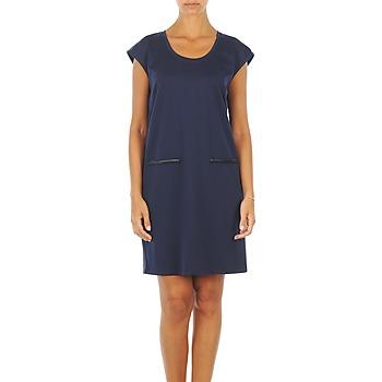 Υφασμάτινα Γυναίκα Κοντά Φορέματα Vero Moda CELINA S/L SHORT DRESS MARINE