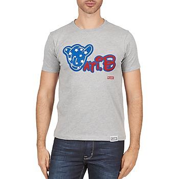 Υφασμάτινα Άνδρας T-shirt με κοντά μανίκια Wati B TSMIKUSA Grey