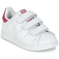 Παπούτσια Κορίτσι Χαμηλά Sneakers adidas Originals STAN SMITH CF I άσπρο