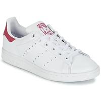 Παπούτσια Κορίτσι Χαμηλά Sneakers adidas Originals STAN SMITH J Άσπρο