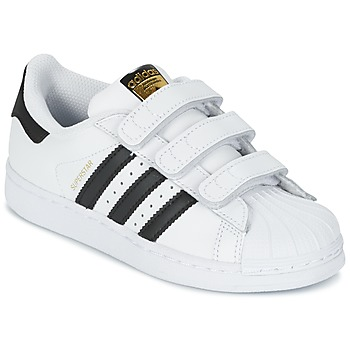 Παπούτσια Παιδί Χαμηλά Sneakers adidas Originals SUPERSTAR FOUNDATIO Άσπρο / Black