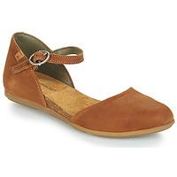 Παπούτσια Γυναίκα Μπαλαρίνες El Naturalista STELLA Brown