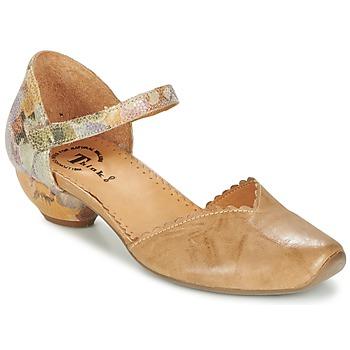 Παπούτσια Γυναίκα Σανδάλια / Πέδιλα Think AIDA Camel