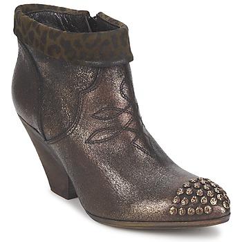 Παπούτσια Γυναίκα Χαμηλές Μπότες Strategia AILLA Kaki / Aluminium