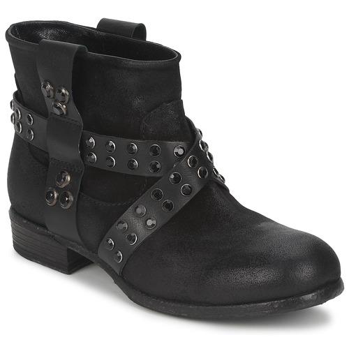 Παπούτσια Γυναίκα Μπότες Strategia LUMESE Black