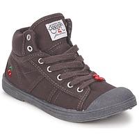 Παπούτσια Παιδί Ψηλά Sneakers Le Temps des Cerises BASIC-03 KIDS Brown