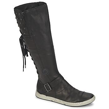 Παπούτσια Γυναίκα Μπότες για την πόλη Pataugas JOSS Black