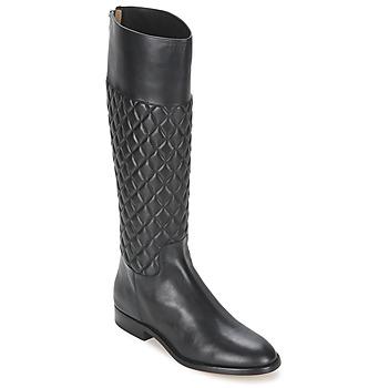 Παπούτσια Γυναίκα Μπότες για την πόλη Michael Kors MINA Black