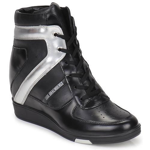 Παπούτσια Γυναίκα Ψηλά Sneakers Bikkembergs JODIE 2 ΜΑΥΡΟ