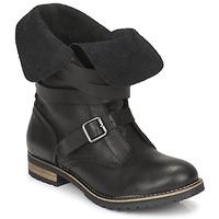 Παπούτσια Γυναίκα Μπότες Casual Attitude GRAVINE Black
