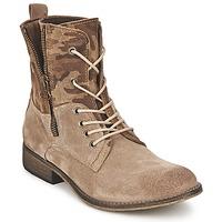Παπούτσια Γυναίκα Μπότες Casual Attitude GRIVO TAUPE