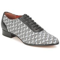 Παπούτσια Γυναίκα Richelieu Missoni WM076 Black / Grey