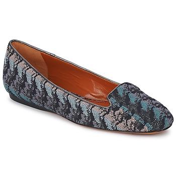 Παπούτσια Γυναίκα Μοκασσίνια Missoni WM004 Μπλέ