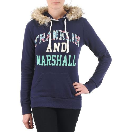Υφασμάτινα Γυναίκα Φούτερ Franklin & Marshall COWICHAN Marine
