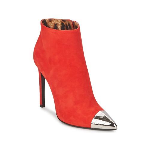 Παπούτσια Γυναίκα Μποτίνια Roberto Cavalli WDS213 Red