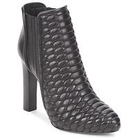 Παπούτσια Γυναίκα Μποτίνια Roberto Cavalli WDS227 Black